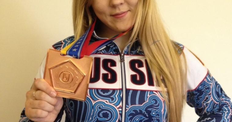 Валерия Давыдкина – бронзовый призёр Кубка Европы