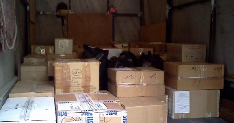 Продукты и лекарства. Магнитогорцы снова отправили гуманитарный груз для Юго-Востока Украины