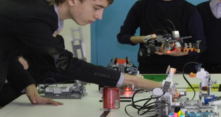 Школьники руководят технологическим процессом