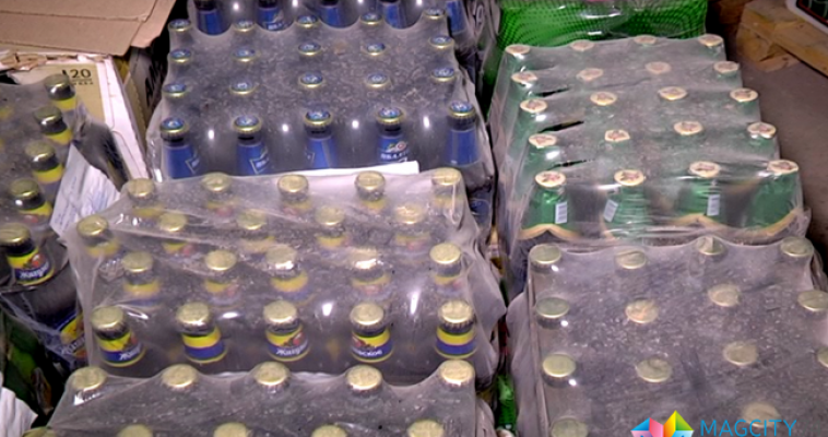 Очередная партия алкогольной продукции отправлена на уничтожение