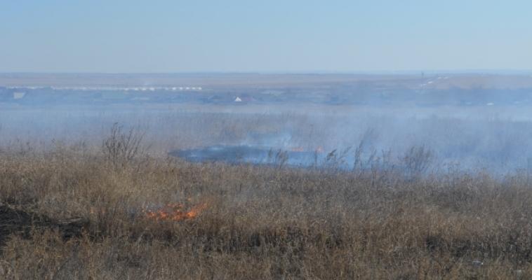 Под Магнитогорском горят леса