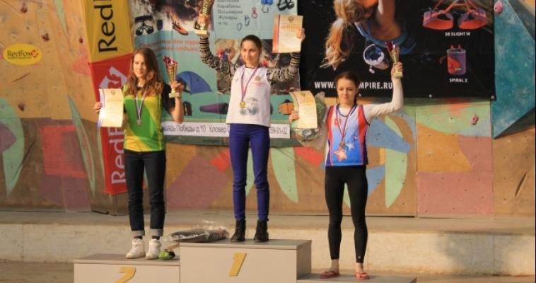 Магнитогорская спортсменка привезла две бронзы с всероссийских стартов по скалолазанию