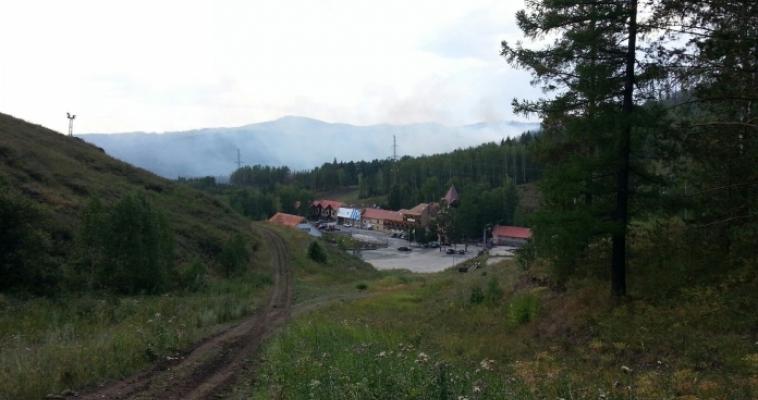 В Башкирии горят леса