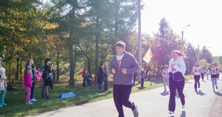 Магнитогорск отметил День бега. В Экологическом парке состоялись массовые соревнования «Кросс наций-2016»