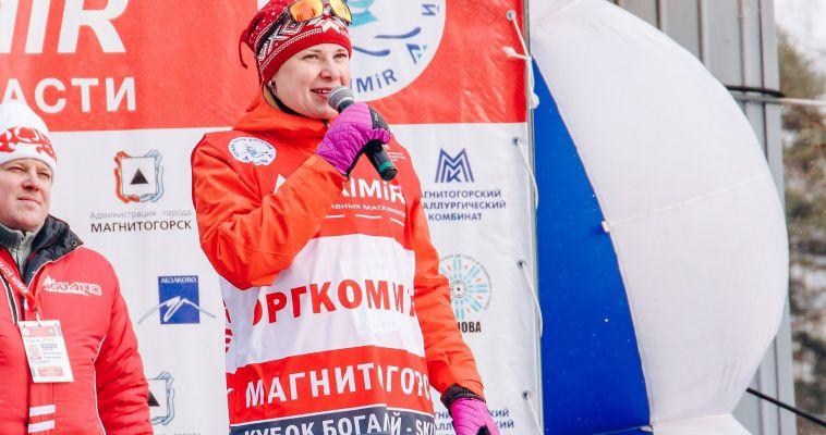 Двукратная Олимпийская чемпионка приехала в Магнитку ради юных биатлонистов
