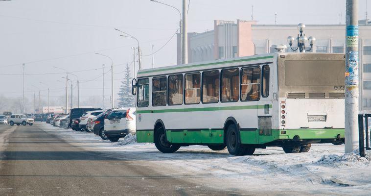 Из-за непогоды автобусы сходят с рейсов
