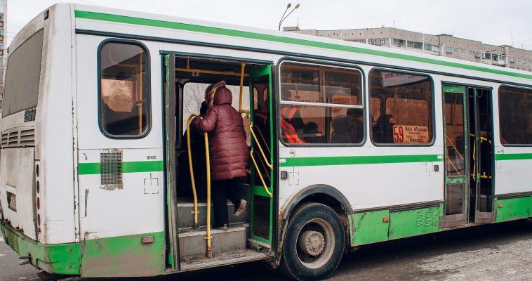 Средний возраст автобусов почти 16 лет