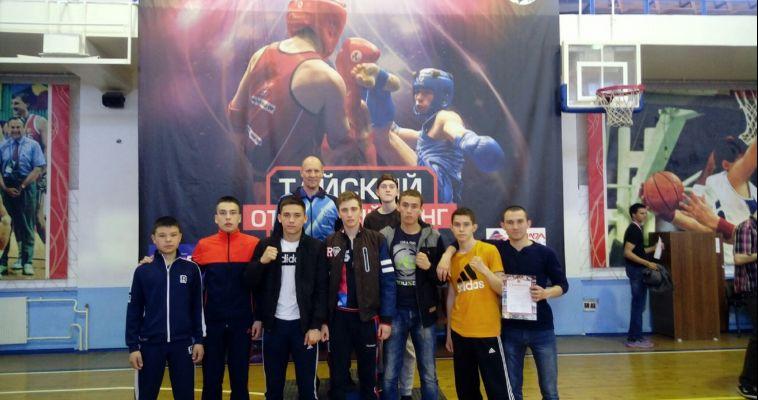 Команда из Магнитогорска с успехом выступила на Кубке области по тайскому боксу