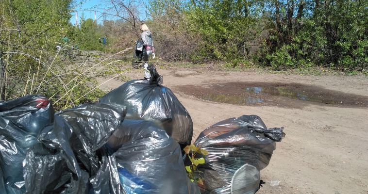 Вышли на уборку. Сегодня в Магнитогорске прошел ежегодный субботник «Зеленая весна»