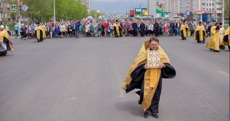 Крестный ход в честь Дня славянской письменности. Репортаж с места событий