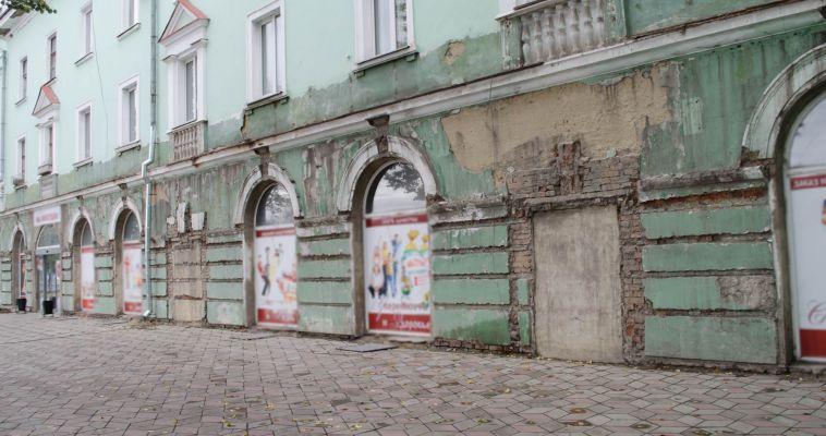 Фасад дома на площади Горького восстановит предприниматель