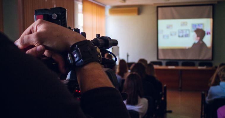 Лицеисты пообщались с журналистами