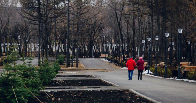 Парк у Вечного огня объявлен открытым