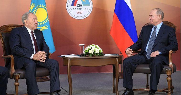 Президенты России и Казахстана посетили Челябинск