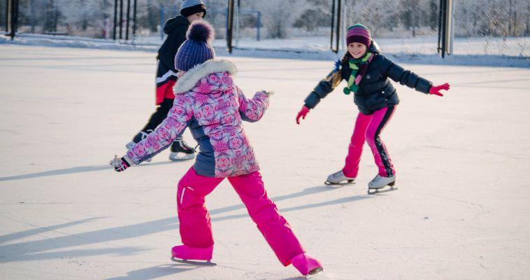 Где можно покататься на коньках?