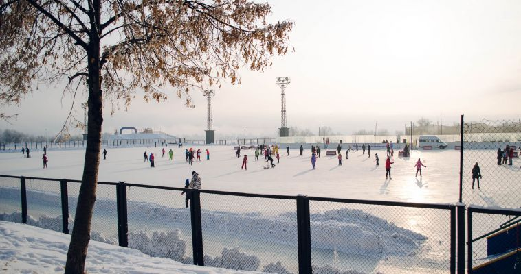 Самый большой лед города открылся!