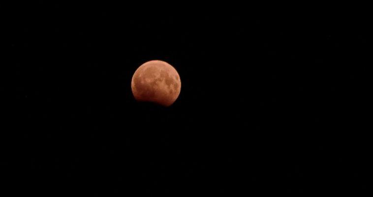Сегодня увидим «кровавую» Луну