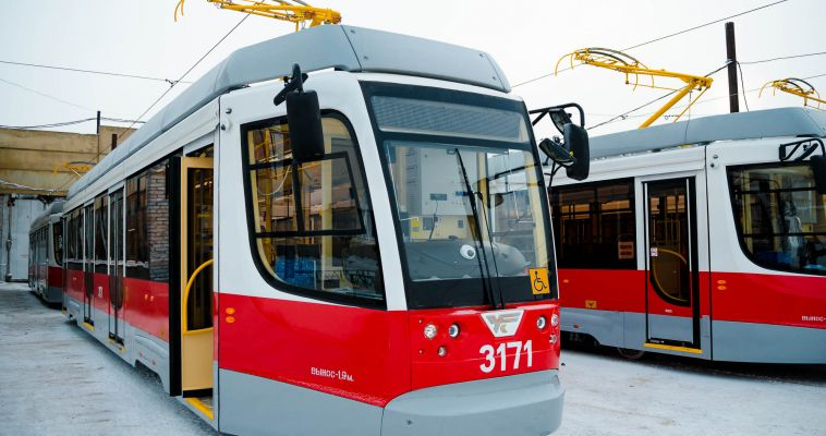 Трамваи перевезли 443 тысячи человек