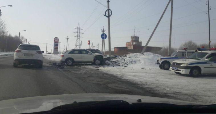 Серьезная авария произошла на Гагарина