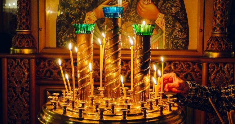 Богослужение у будущего храма. Магнитогорцев приглашают на молитву