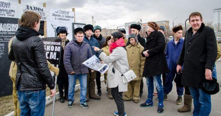 Магнитогорское фото «Живой победы» отправилось на челябинскую выставку