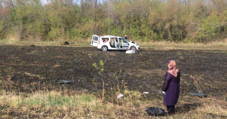 Очевидцы: частный перевозчик вылетел с трассы под Сибаем