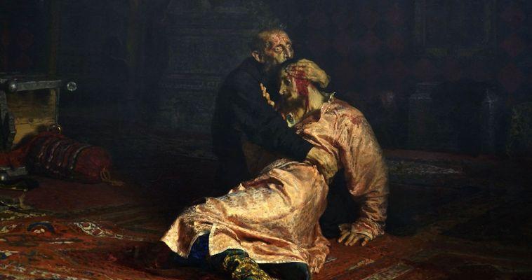 Посетитель «Третьяковки» напал на Ивана Грозного