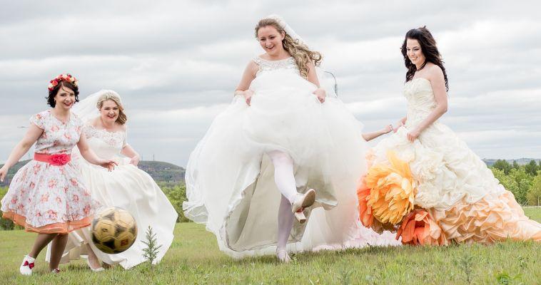 Фото. В Магнитогорске прошёл парад невест