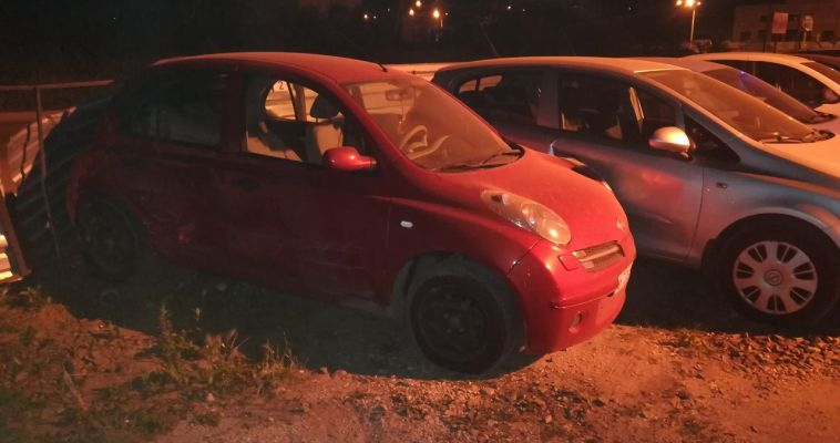Мужчина протаранил автомобиль бывшей возлюбленной