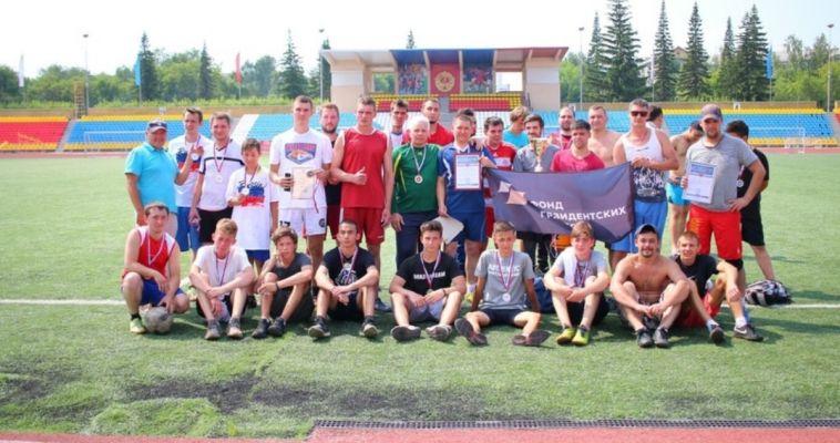 Ветераны спорта уступили сервисной компании в футбольных баталиях