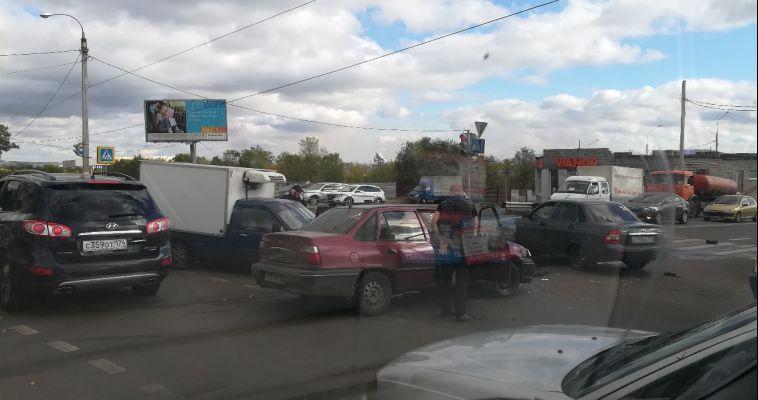 В аварии с «Нексией» есть пострадавший