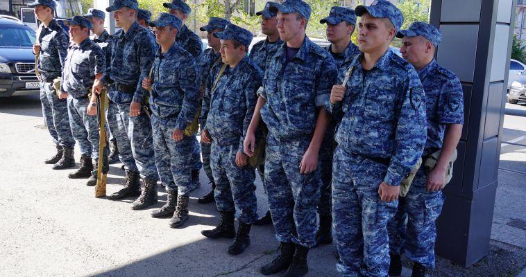 Полицейские вернулись из полугодовой командировки