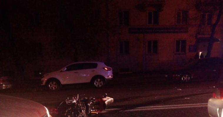 Мотоциклист скорее жив, чем мертв