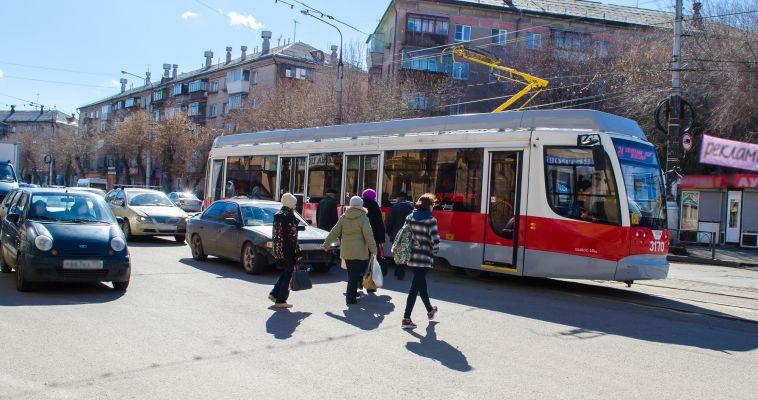 В Маггортрансе прокомментировали ситуацию с отоплением в трамваях