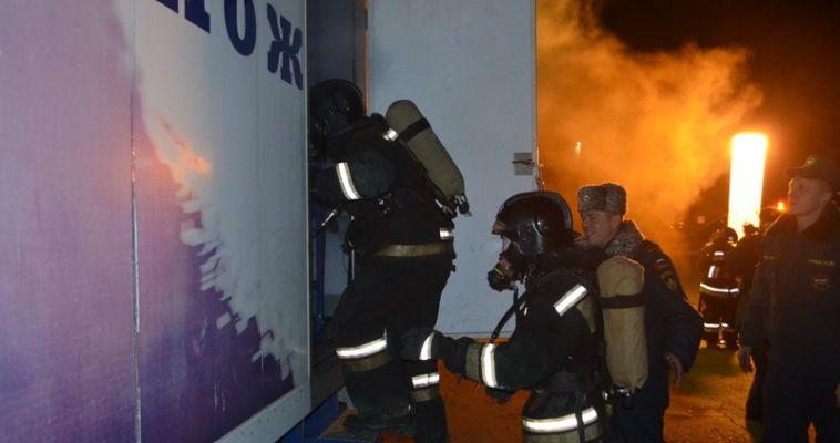 В Магнитогорске прошел масштабный семинар для огнеборцев