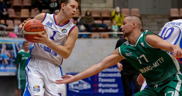 Магнитогорские баскетболисты победили своего командного тезку