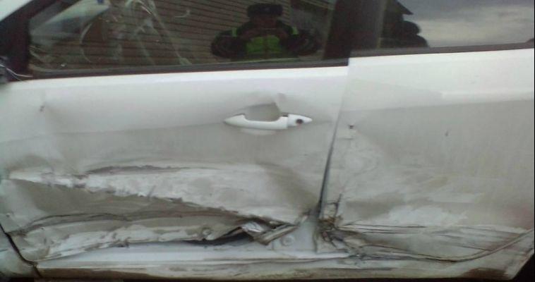 Водитель пошел на обгон и устроил аварию