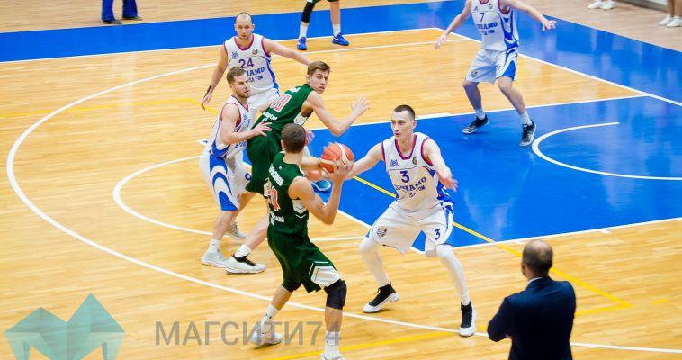 Магнитогорские баскетболисты одержали пятую победу подряд