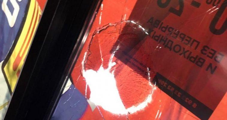 В Магнитогорске хулиганы подожгли спортивный магазин