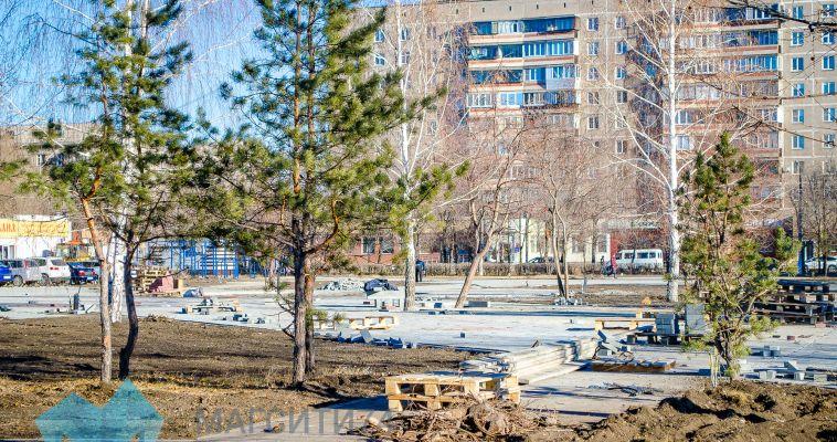 Сквер им. Бориса Ручьёва обновят к новому году