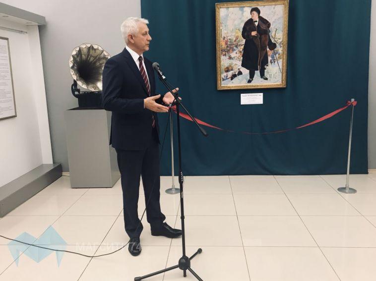 Магнитогорцы увидят знаменитый портрет Шаляпина