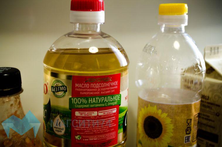 Росконтроль обнаружил недолив в бутылках подсолнечного масла
