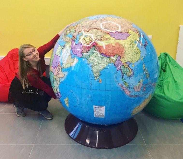 Теплофикация купила глобус для «Кванториума»