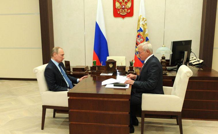 Владимир Путин похвалил Рашникова за экологическую политику
