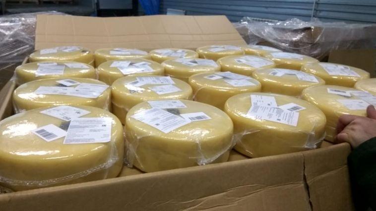 Европейский сыр не прошел границу