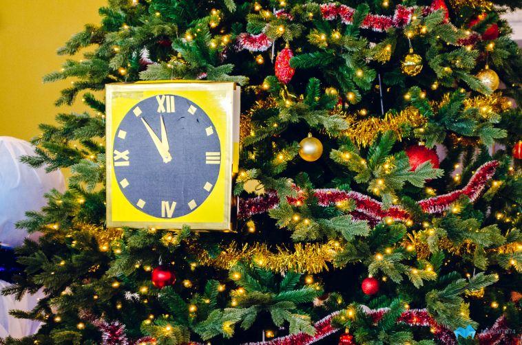 В детской больнице прошел новогодний праздник