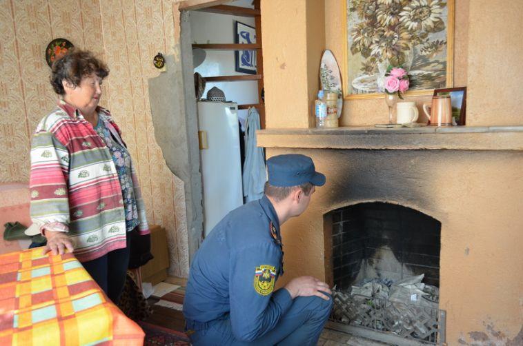Из-за неисправных печей в садах произошло десять пожаров