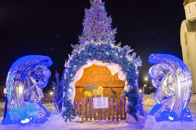 Православные Магнитогорска встретили Рождество
