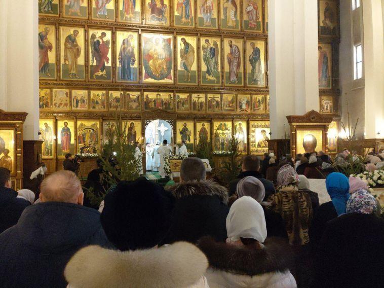 В соборе Вознесения прошла панихида по погибшим