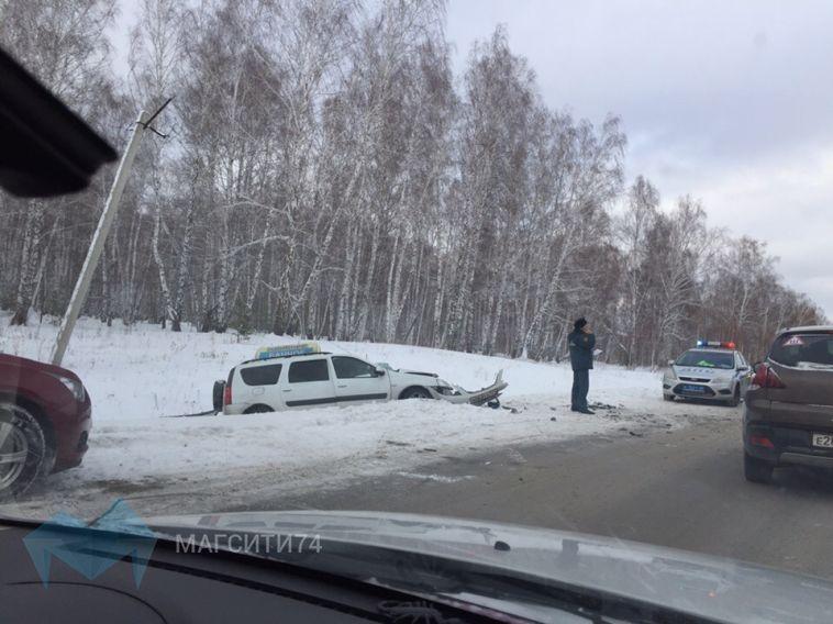В районе озера Банное произошла авария